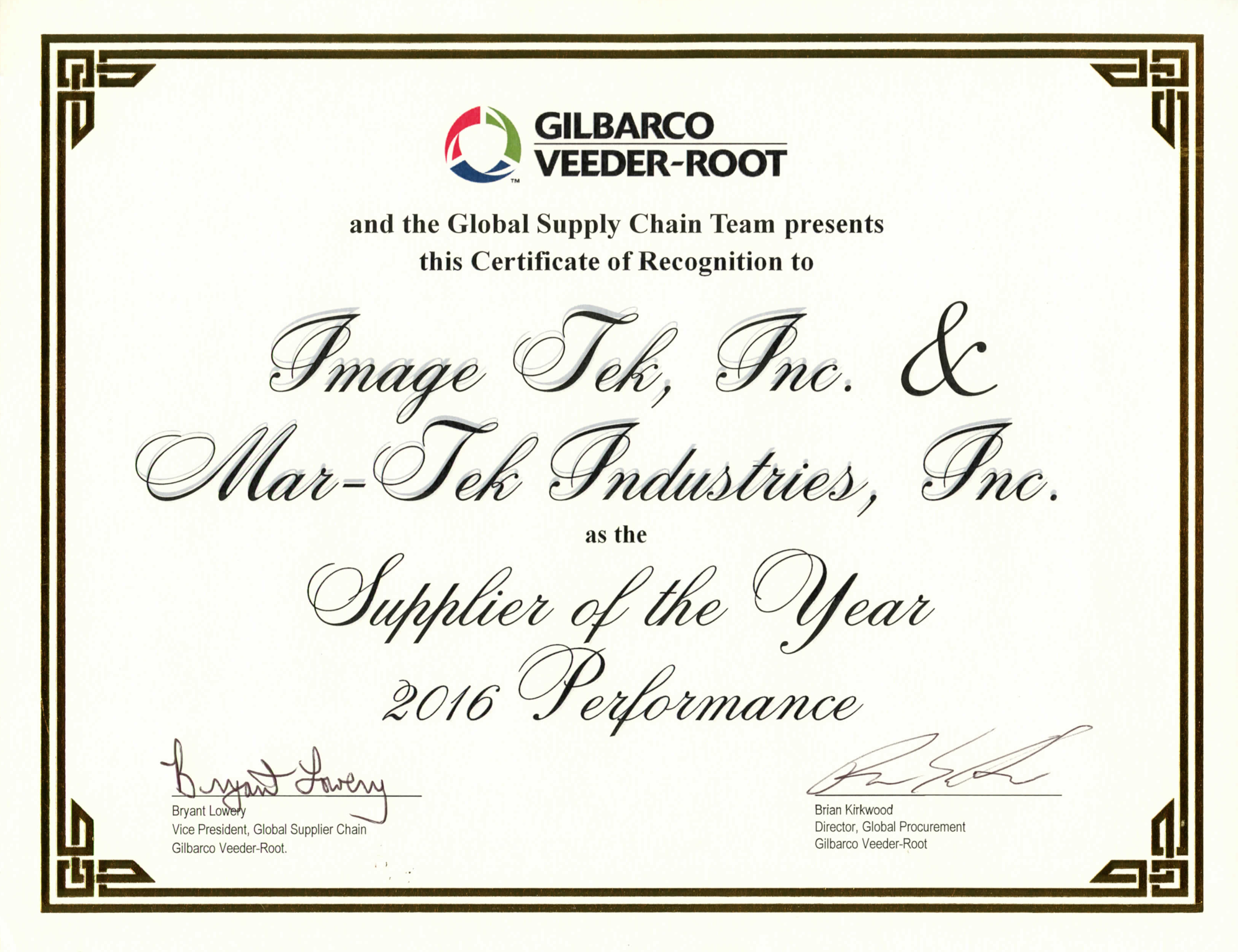 Gilbarco veeder root presents certificate of recognition mar tek gilbarco veeder root presents certificate of recognition mar tek industries 1betcityfo Images